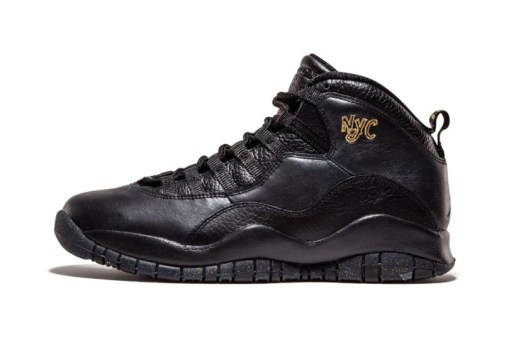 "Jordan Brand's ""City Pack"" Rolls on With the Air Jordan 10 ""NYC"""