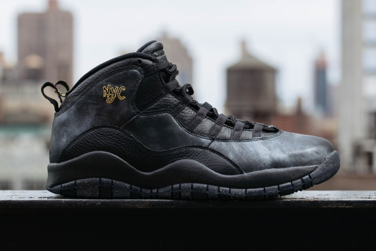 "A Closer Look at the Air Jordan 10 ""City Pack: NYC"""