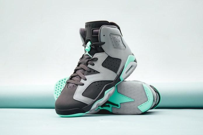 """Jordan Brand Brings the """"Green Glow"""" to the Air Jordan 6"""