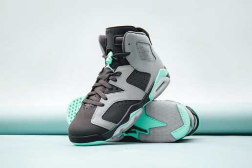 "Jordan Brand Brings the ""Green Glow"" to the Air Jordan 6"