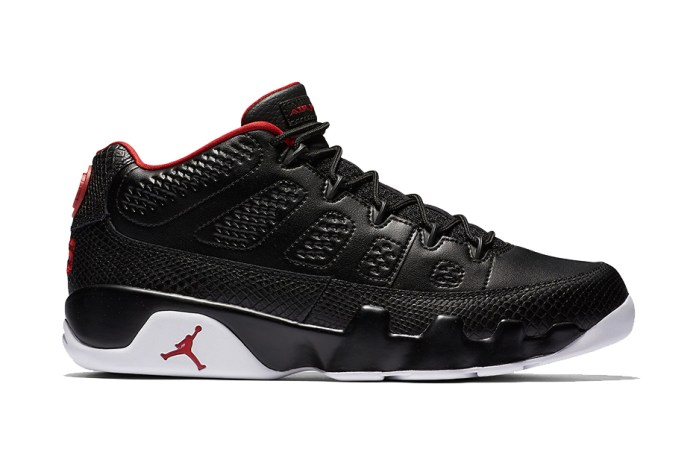 "The Air Jordan 9 ""Bred"" Returns in Low-Top Form"
