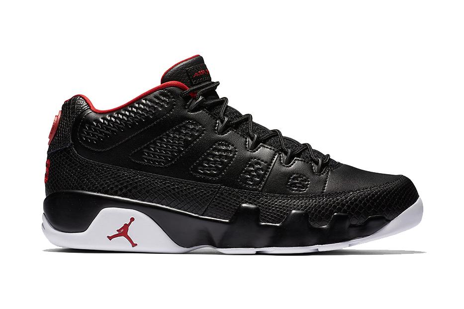 """The Air Jordan 9 """"Bred"""" Returns in Low-Top Form"""