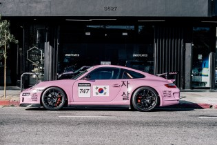 Anti Social Social Club x Period Correct x Porsche GT3 RS Installation