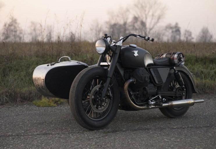 Anvil Motociclette Introduces the Custom Moto Guzzi V9