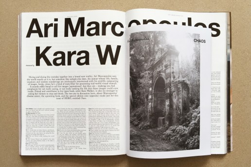 Ari Marcopolous Releases 'Chaos' Zine Inside the Latest Issue of 'HERO' Magazine