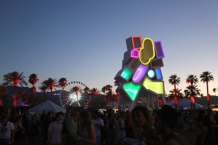 Not Only a Music Festival, Coachella Also Plays Host to a Range of Stunning Art Installations