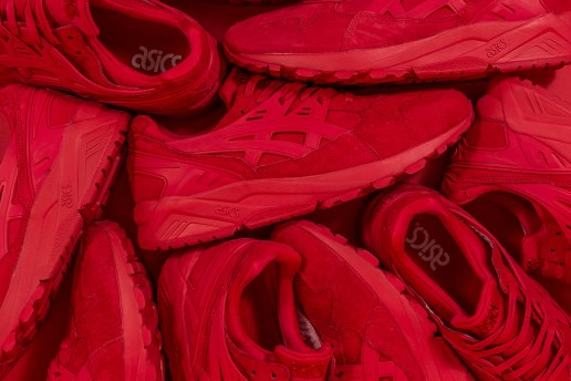 "Packer Shoes Is Dropping an Exclusive ""Triple Red"" ASICS GEL-Kayano Trainer"