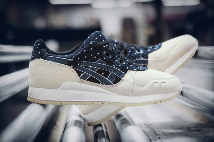 "A Closer Look at the ASICS GEL-Lyte III ""Japanese Textile"""