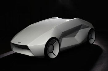 The Audi White Noise Concept Is an Electric Vehicle With a Snarl