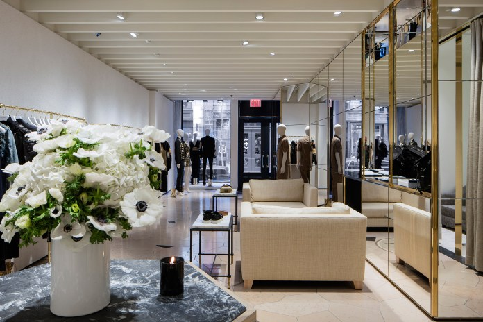 Balmain Opens Its First Flagship Store in New York