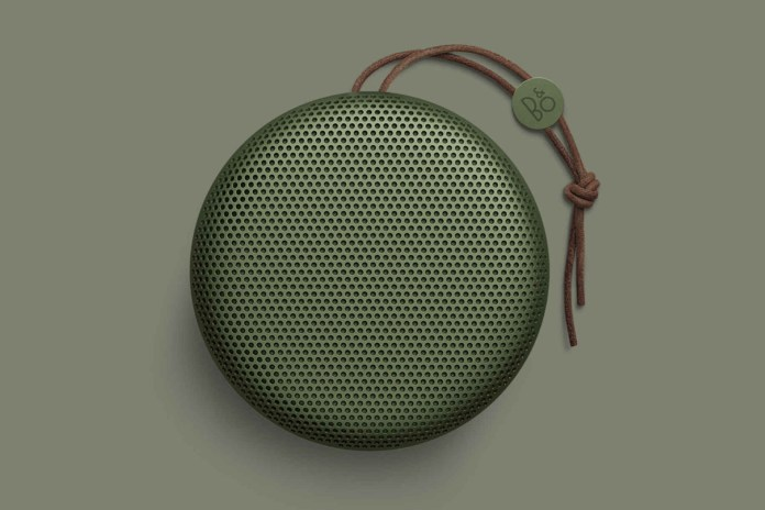 Bang & Olufsen's A1 Is the Perfect Speaker for Travel