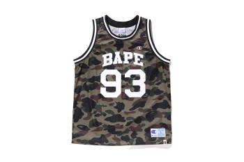 Check out the Full A Bathing Ape x Champion Capsule Range