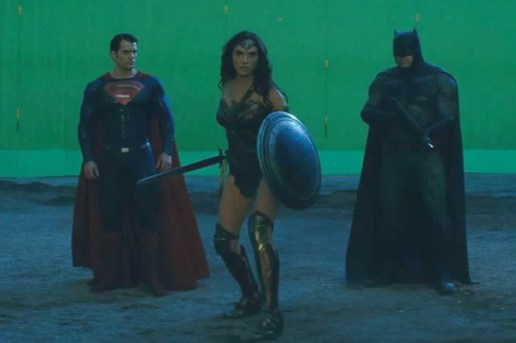 Here's a Look at 'Batman v Superman: Dawn of Justice' Before and After Visual Effects