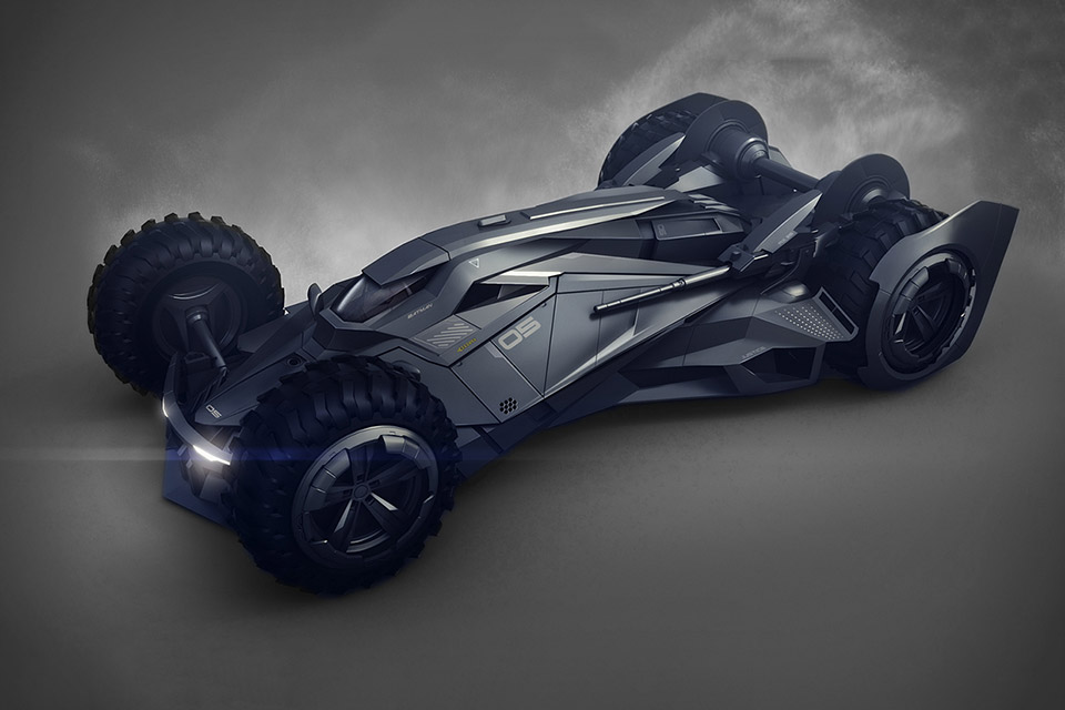 Imagining the Batmobile of the Future