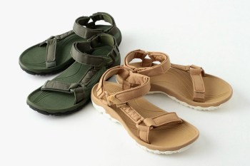 BEAUTY & YOUTH Puts a Military Spin on the Teva Hurricane Sandal