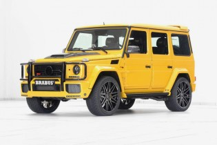 Brabus Packs 700 Horsepower Into the Mecedes-AMG G63