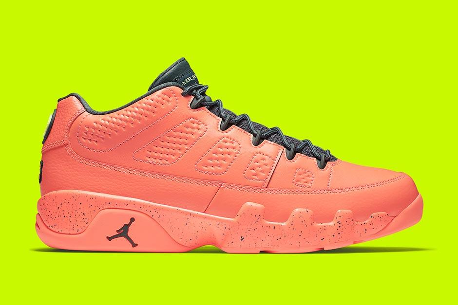 """Bright Mango"" Coloring Is Next to Coat the Air Jordan 9 Low"
