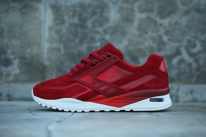 """BAIT Gives the Brooks Regent a Red-Hot """"Inferno"""" Makeover in Pigskin Suede"""