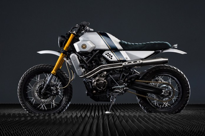 Bunker Custom Motorcycles Revamps the Yamaha XSR700