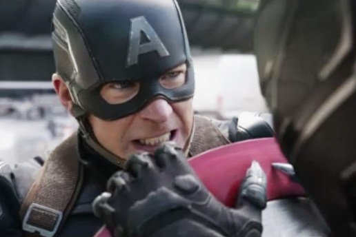 Captain America Shows Who's Boss in New Clip From 'Captain America: Civil War'