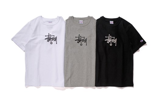 Champion and Stussy Team up for Special 2016 Spring Reverse Collection