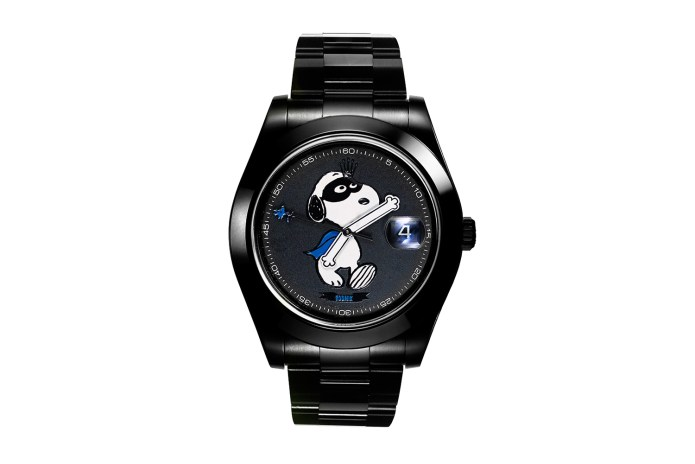 colette Dropped Its Own Snoopy Rolex Datejust From Bamford Watch Department