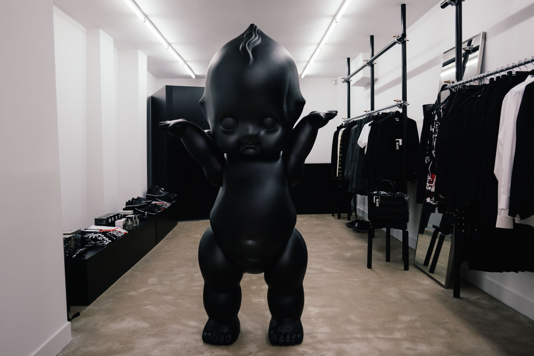 COMME des GARÇONS Launches New BLACK Boutique in the Heart of Amsterdam