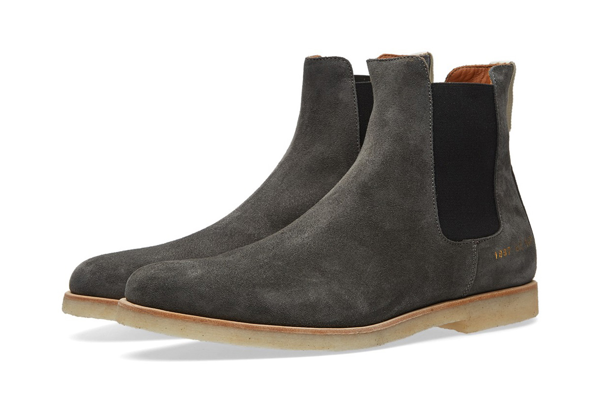 Common Projects Delivers Its Chelsea Boot in 4 Seasonal Colorways