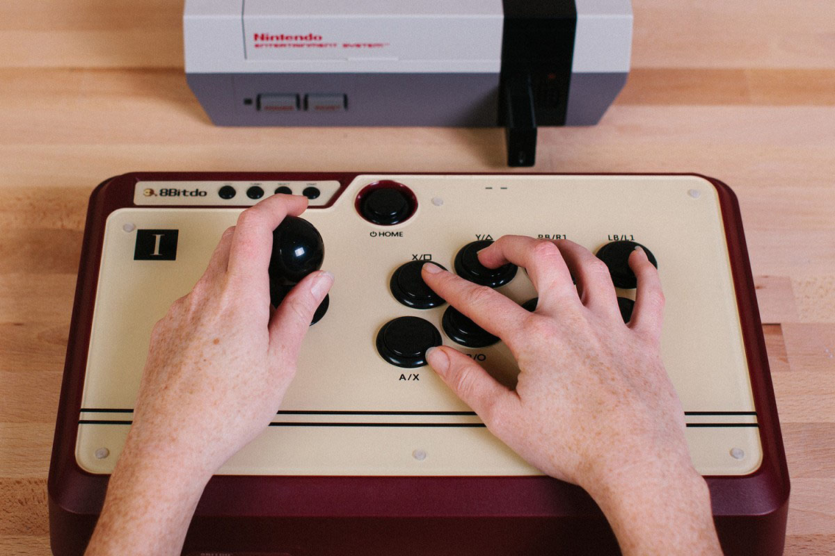 Past Meets Present: New Adapter Mixes Current Gen Controllers With NES Console