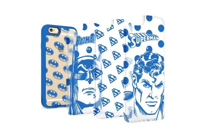 """DC Comics x colette x Casetify """"Batman Superman"""" Capsule Collection"""