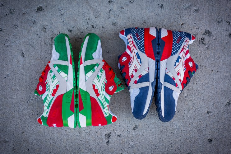 """The Diadora N.9000 """"Flag"""" Pack Channels Old Glory & il Tricolore"""