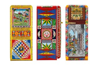 Dolce & Gabbana Commissioned 100 Outrageously Expensive Hand-Painted Smeg Fridges