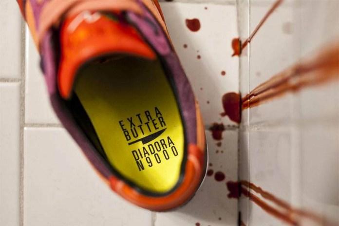 Extra Butter & Diadora Tease Their Upcoming Horror-Themed Collab
