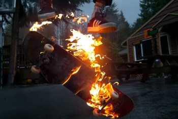 This Epic Pyromaniac Skateboard Video Makes You Second Guess Its Authenticity