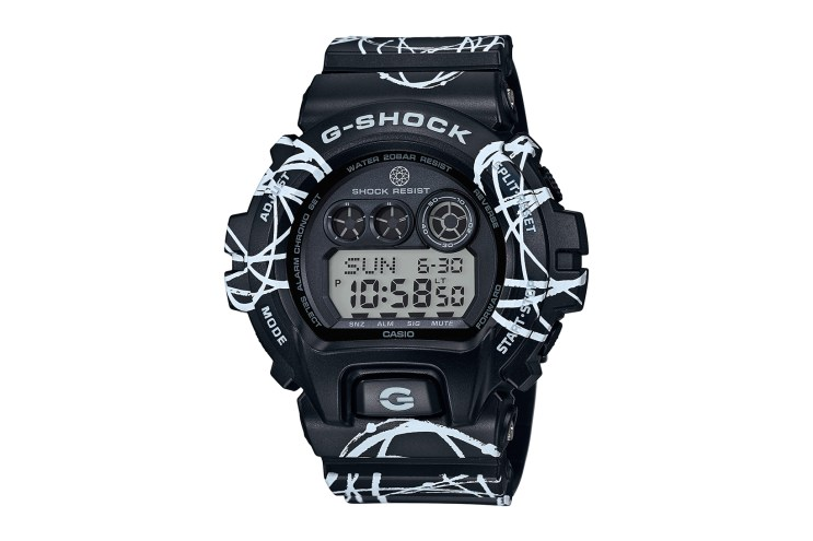 Iconic Graffiti Artist Futura & G-Shock Celebrate Their Relationship With a Brand New Collaboration