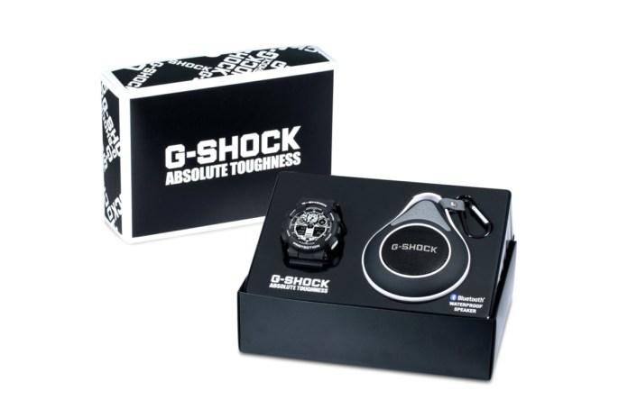 G-Shock GA100BW-1ABT Waterproof Bluetooth Speaker