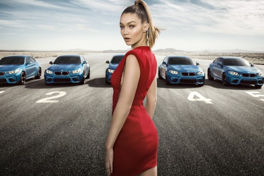 Can You Keep Your Eyes on Gigi Hadid in BMW's New Commercial?