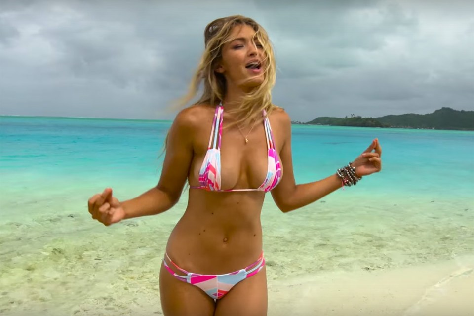 gigi hadid  u0026 39 sports illustrated u0026 39  outtakes