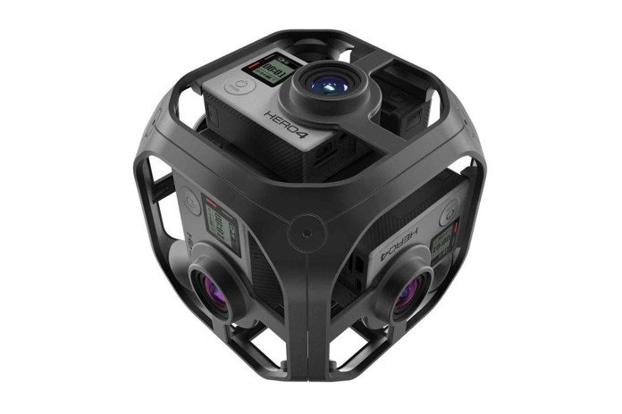 GoPro Unveils the 360-Degree Omni