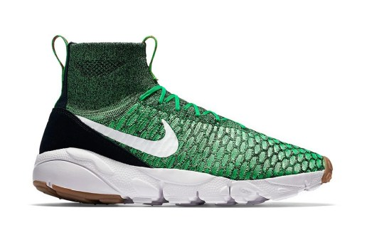 """""""Gorge Green"""" Will Be Next to Cover Nike's Footscape Magista Flyknit"""