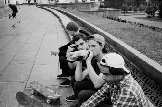 Julian Klincewicz Photographed Gosha Rubchinskiy's Skate Crew for New 'ЖУРНАЛ' Zine