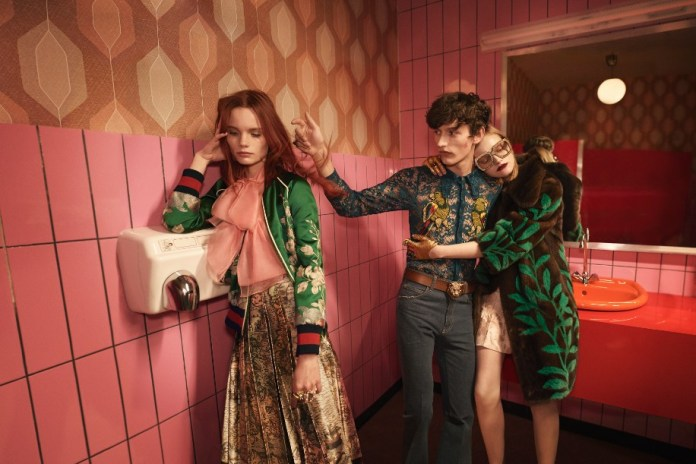 Gucci Will Be Combining Men's and Women's Fashion Shows Starting 2017