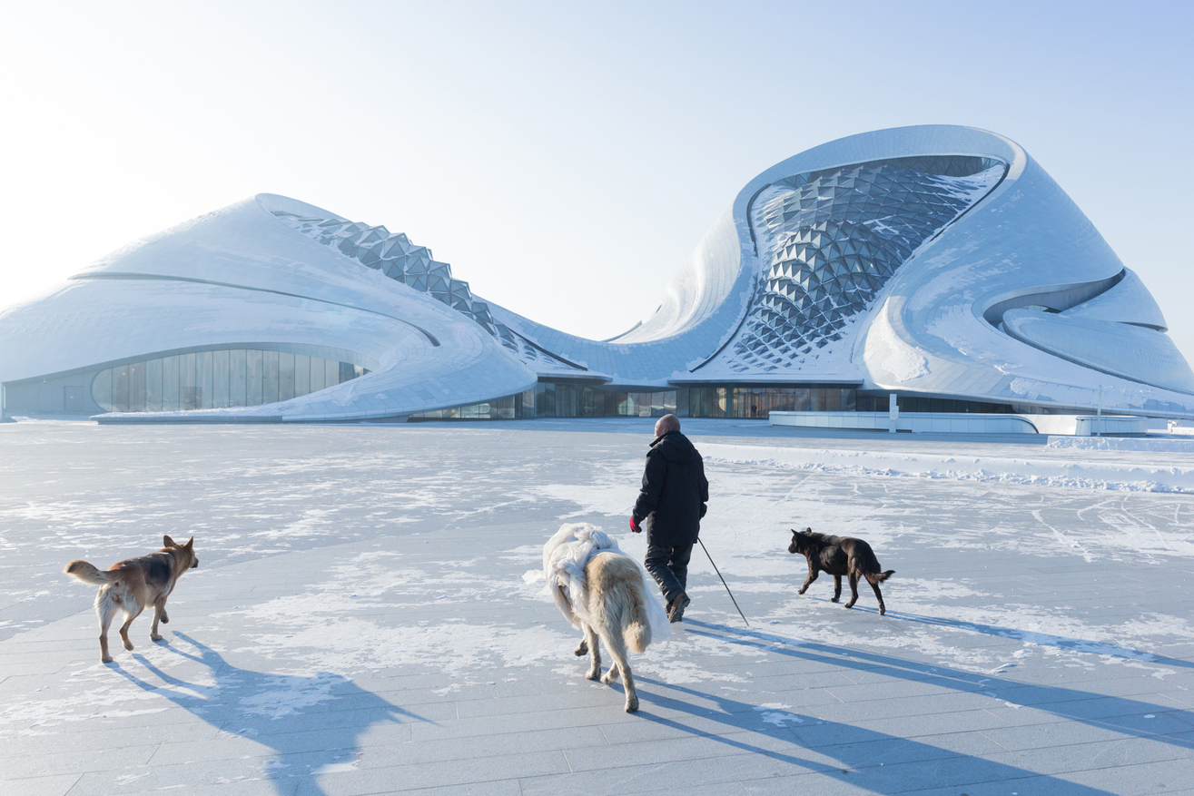 The Harbin Opera House Is a Vision From the Distant Future