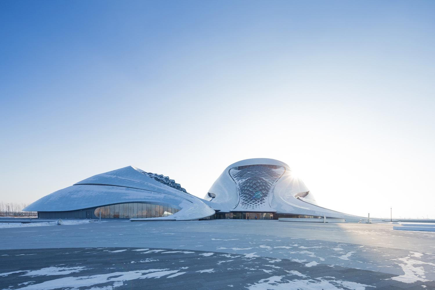 Iwan Baan Photographs The Harbin Opera House Hypebeast