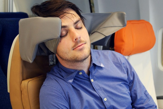 The HeadRest Could Make Flying a Little Less Hellish