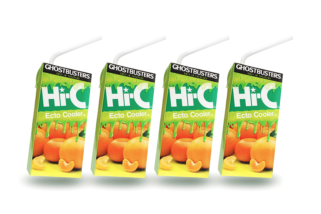 Hi-C Is Bringing Back Ecto Cooler for This Summer's 'Ghostbusters' Reboot