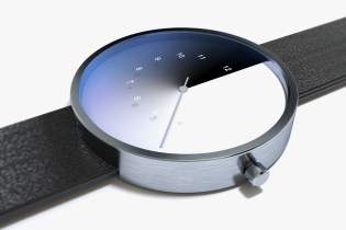 This Concept Watch Tells the Time Using a Color Gradient