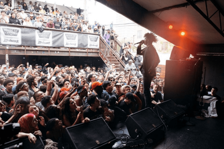 A Recap Of HYPETRAK's First Showcase Ever with House of Vans at SXSW