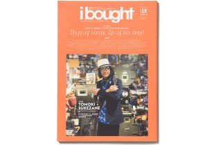 'ibought' Vol. 12 Features Cav Empt's Toby Feltwell, Porter and UNITED ARROWS