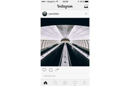 Instagram Is Testing out a Slick Black & White Redesign